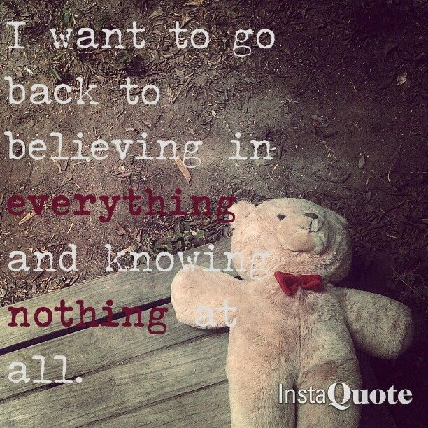 Evanescence - Fields of Innocence  #childhood #quotes