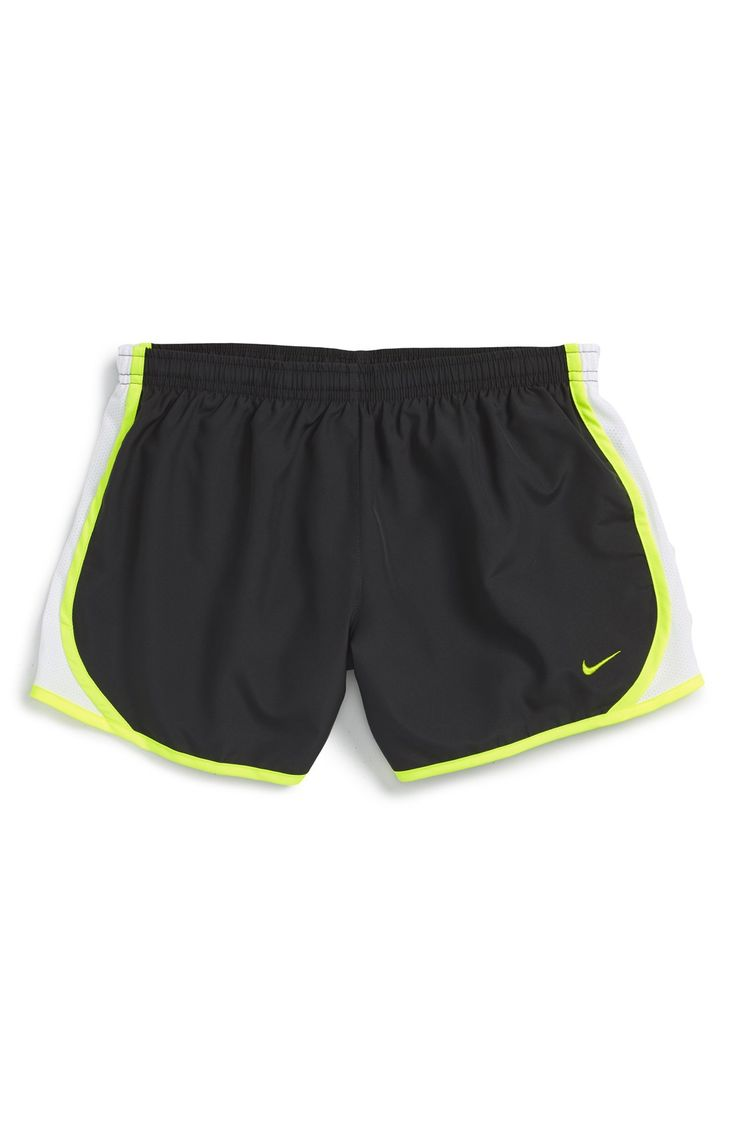 Nike 'Tempo' Track Shorts (Big Girls)