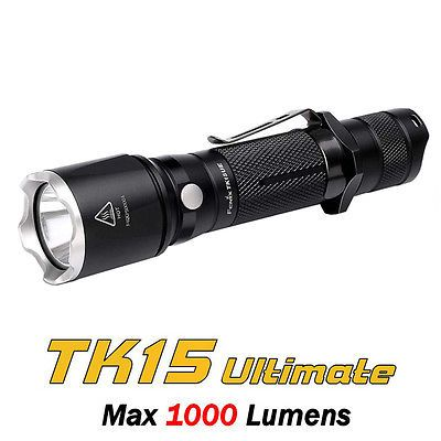 Fenix TK15 UE Ultimate Edition Cree XP-L HI V3 LED Tactical Flashlight Torch