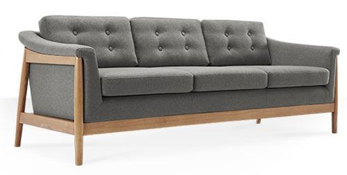 Scandinavian style tarnby sofas at swoon editions cool for Variant of scandinavian designs sofa ideas