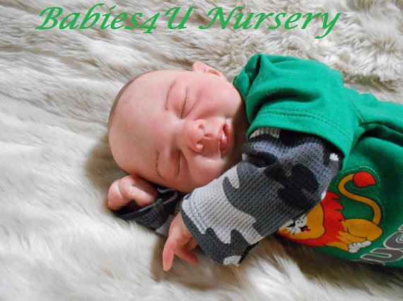 Reborn Baby Boy 21 Inches Newborn Fake Baby Realistic Lifelike