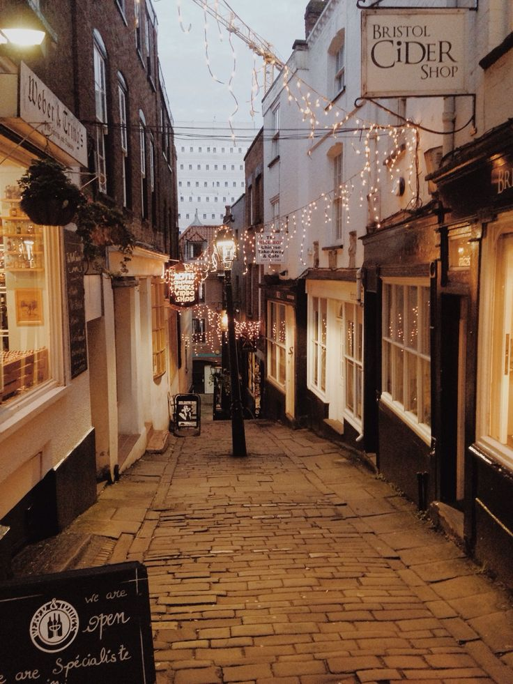 Bristol, England- That cider shop is actually REALLY cool