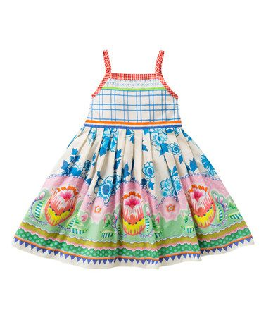 Love this Blue Windmill Doeska Dress - Toddler & Girls by Oilily