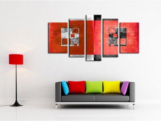 free tableau moderne les deux carrs with tableau oriental pas cher. Black Bedroom Furniture Sets. Home Design Ideas