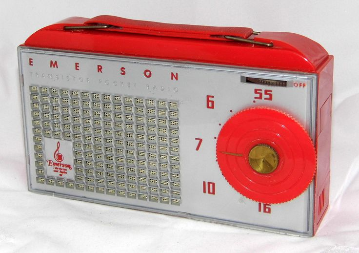 https://flic.kr/p/pzDMiG | Vintage Emerson 838 Hybrid Pocket Radio (2 Transistors & 3 Subminiature Tubes), Broadcast Band Only (MW), Made In USA, Circa 1955