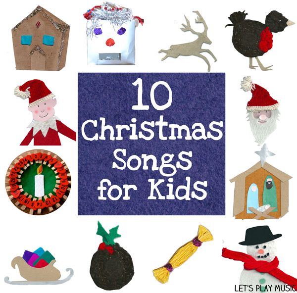 """The best way to spread Christmas cheer is singing loud for all to hear!"" - 10 Christmas Songs for Kids aged 2-6+ with lots of actions and movement - Let's Play Music"