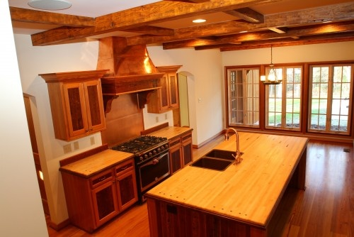 Bowling alley wood kitchens pinterest more reclaimed for Alley kitchen designs