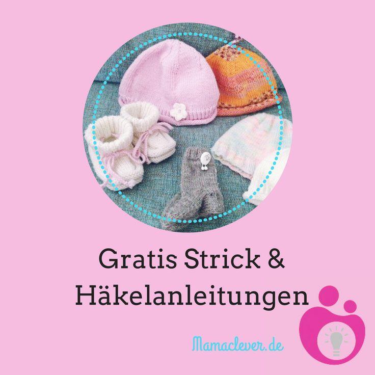 24 best Kostenlose Strick- und Häkelanleitungen für Babysachen ...
