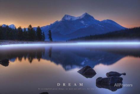 Dream - Mountains Landscape Posters sur AllPosters.fr