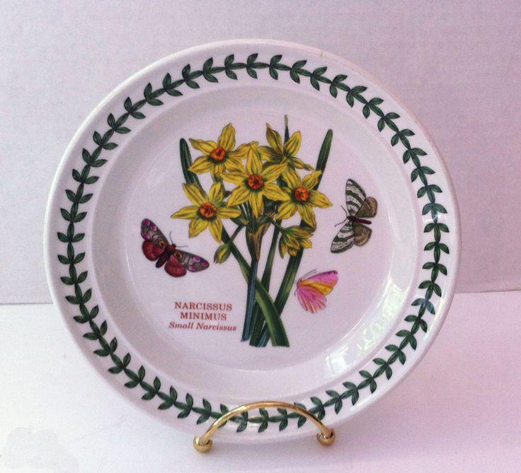 Portmeirion Botanic Garden Small Plate Narcissus Minimus 7