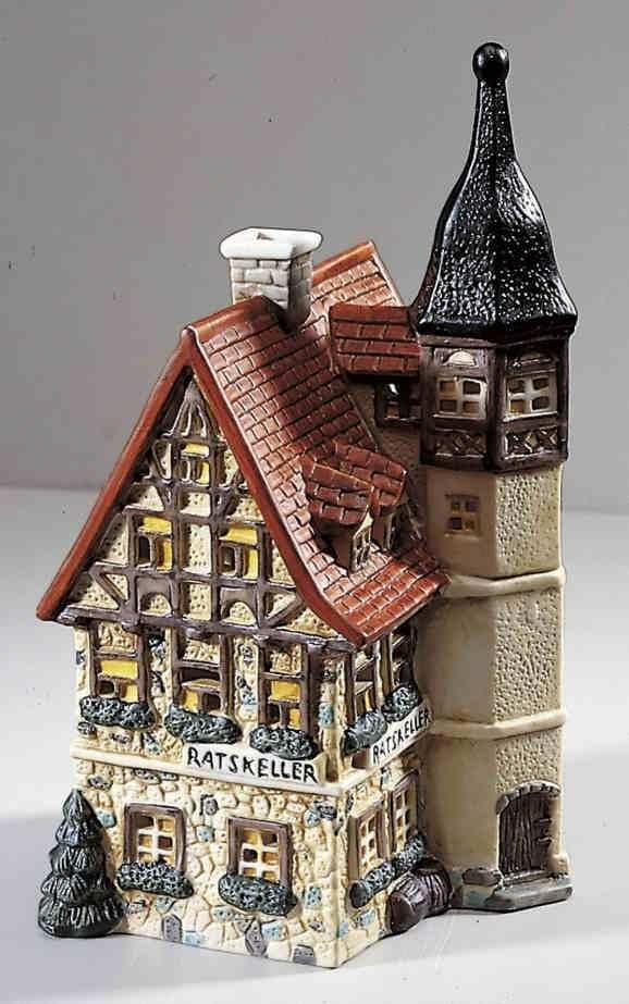 21 besten historische lichth user bilder auf pinterest weihnachtliches keramik und miniatur. Black Bedroom Furniture Sets. Home Design Ideas