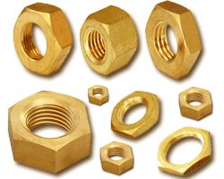 #BrassNuts   We are manufacturer of high tensile Brass Nuts. Our specialized range of these nut bolts can be used for attaching machine's thread fastener. Even these products can be customized distinguishing from various sizes considering the demand of our clients.