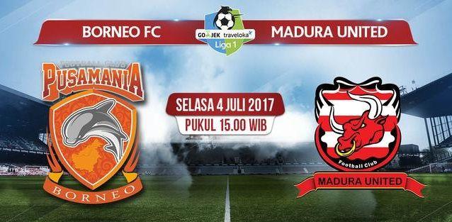 bandarbo.com Prediksi Bola : Borneo FC vs Madura United 4 Juli 2017 #Bandarbo #taruhanbola #DaftarBandarbo #DepositBandarBo