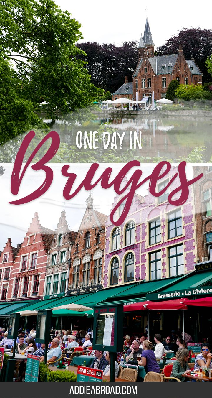 Want to know what to do with only one day in Bruges? Check out this post about what to do in Bruges.