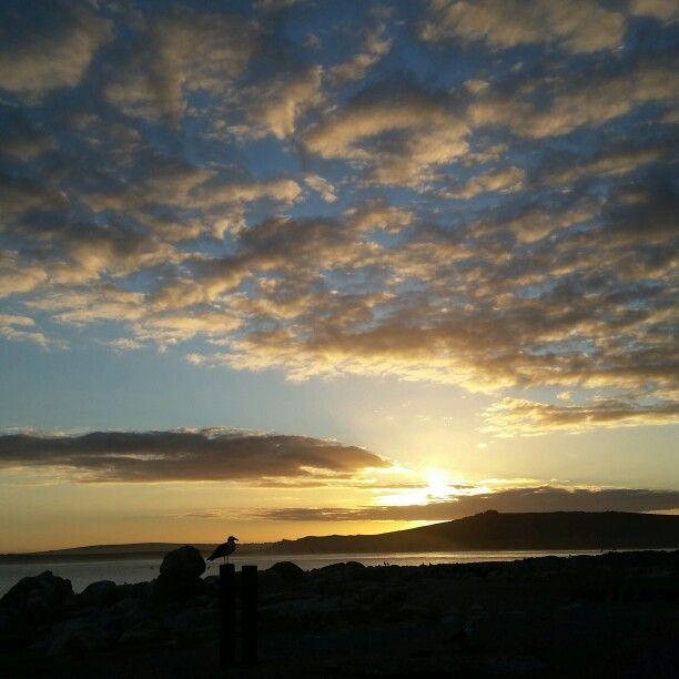 Sunrise on Jutten island