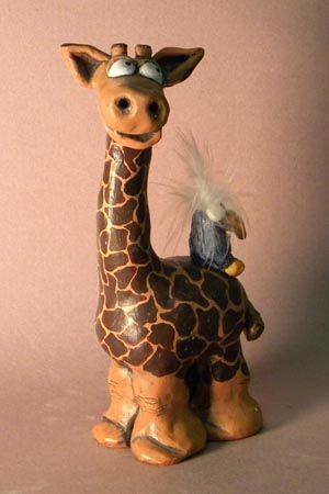 Best Ceramic Ideas For Kids Images On Pinterest Clay - Sporting clay window decalsgiraffe garden statue giraffe clay pot clay pot animal