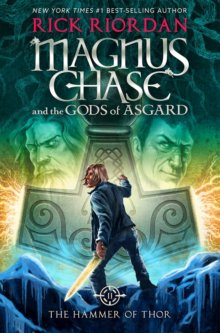 #CoverReveal: Magnus Chase and the Gods of Asgard: The Hammer of Thor - Rick Riordan