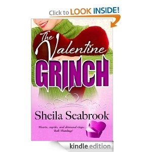 The Valentine Grinch - Book One in the Home for the Holidays Series. Romantic Comedy Novella  Hearts, cupids, and diamond rings … bah humbug!  Amanda Goodwin inherited her Valentine grinchness from her Grandpa George, so when she returns home for her Grandma Elvira's Valentine's Day wedding, it's bah humbug all the way. Until, that is, she encounters her grandpa's ghost.  Fortunately, she's not in this alone. Long time friend, Dane Weatherby, totally gets her grinchly attitude.