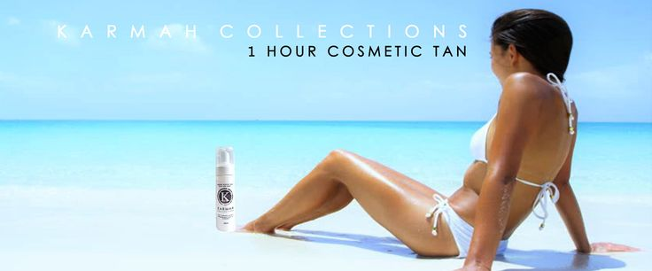 Home of the 1 hour cosmetic fake tan.  100% australian owned and made. infused with avocado oil and aloe vera. for a beautiful deep, hydrated glow.  own it: www.karmahcollections,com T: 0449 077 158  $25.00 AUD