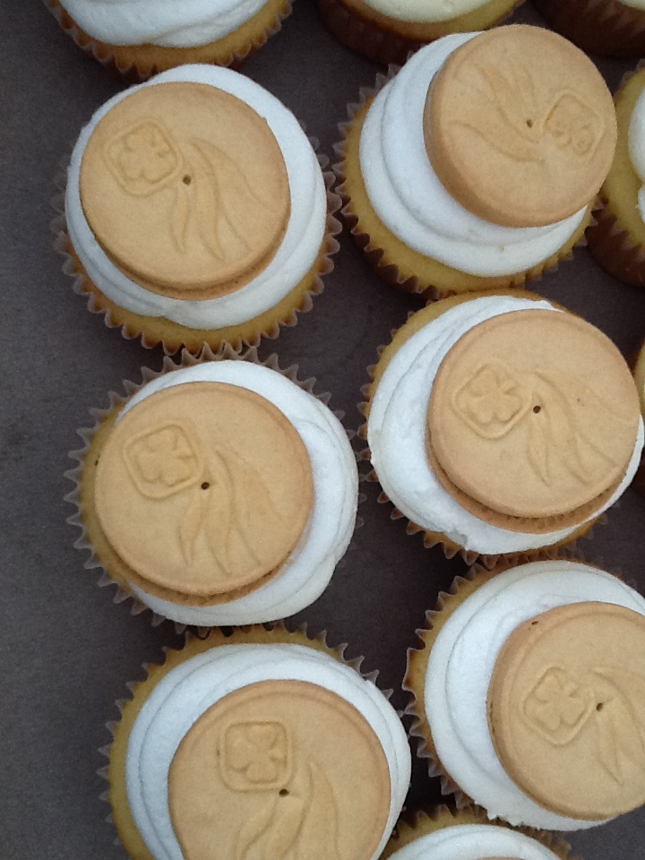 Girl Guides Cupcakes
