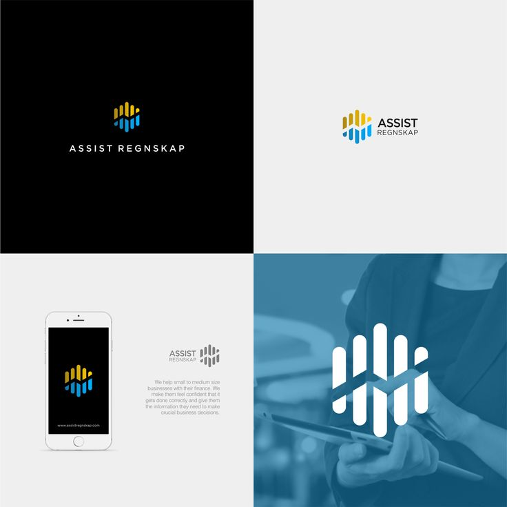 #700 Winner by hantoko 8 days ago In contest Design a modern Norwegian Accounting firm logo | Assist Regnskap