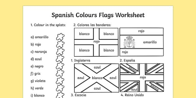 spanish colouring flags worksheet worksheets flag colour countries and nationalities. Black Bedroom Furniture Sets. Home Design Ideas