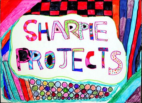A bunch of sharpie project ideas for kids!: Sharpie Crafts For Kids, Crafts Ideas, Diy Crafts, Kids Crafts, Art Ideas, Creative Kids, Projects Ideas, Sharpie Projects For Kids, Kids Art Projects