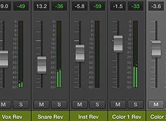 Le guide du mixage — 78e partie Bien débuter Utiliser plusieurs bus auxiliaires pour les réverbes