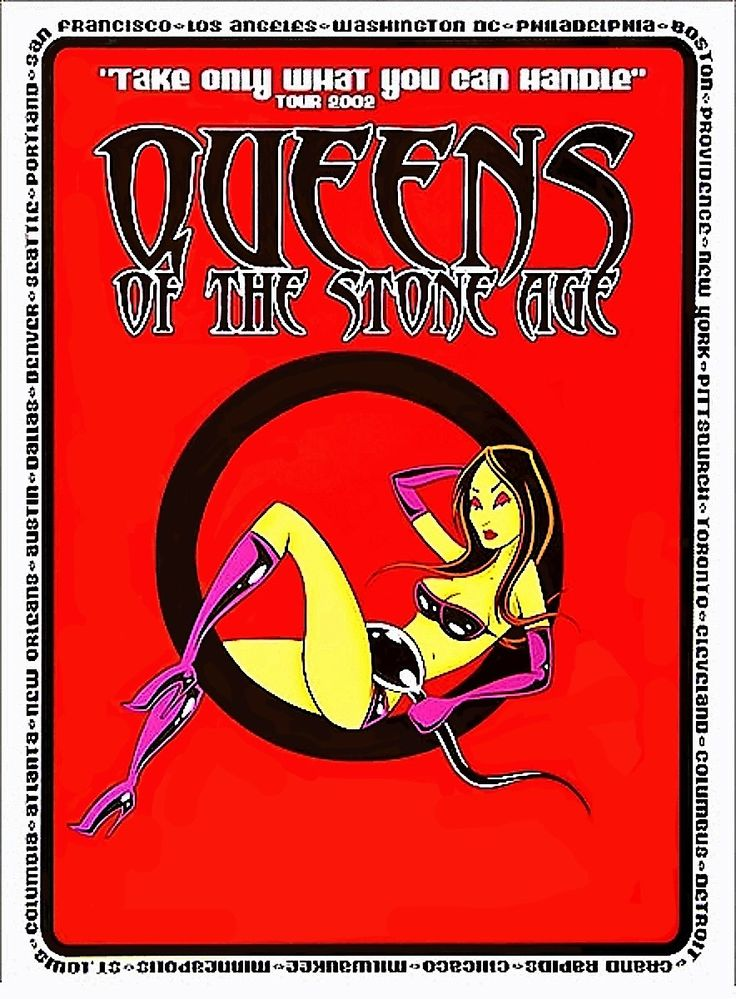 "Queens of the Stone Age ""Take Only What You Can Handle"" Tour 2002"