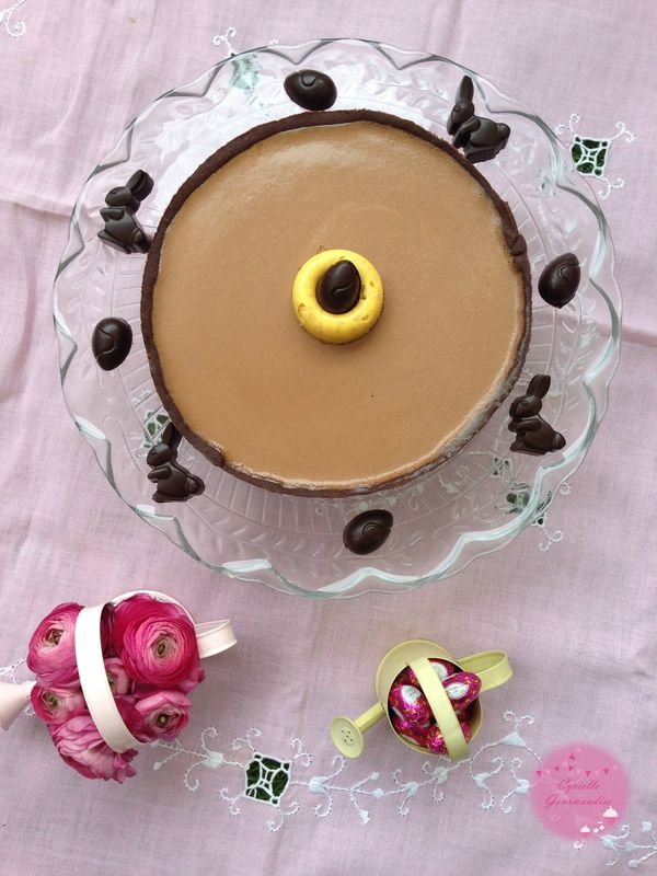Tarte Choco-Passion {Bataille Food #22}