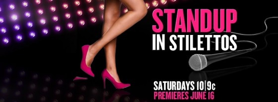 Watch a preview clip of StandUp in Stilettos hosted by Kate Flannery (The Office), premiering Saturday, June 16 at 10/9pm CT on TV Guide Network. Comedians Mary Lynn Rajskub, Gina Yashere and Sara Tiana will be featured on the first show at 10pm, followed by Arden Myrin, Lisa Landry and Helen H