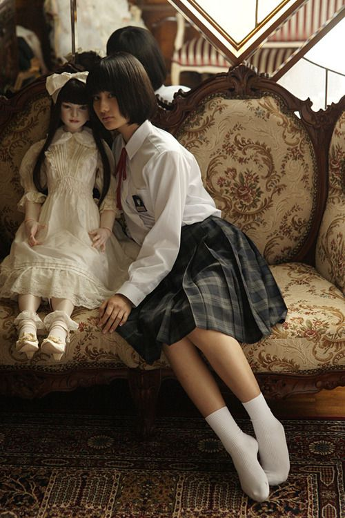 """koitsukihime doll / Queniel sculpt right : Ai Hashimoto from movie """"Another""""(2011)"""