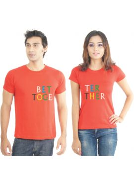Couples T Shirts online: Lacrafters.com is a young, energetic and innovative company providing the best online Couples T Shirts through our unique limited edition T-Shirts.
