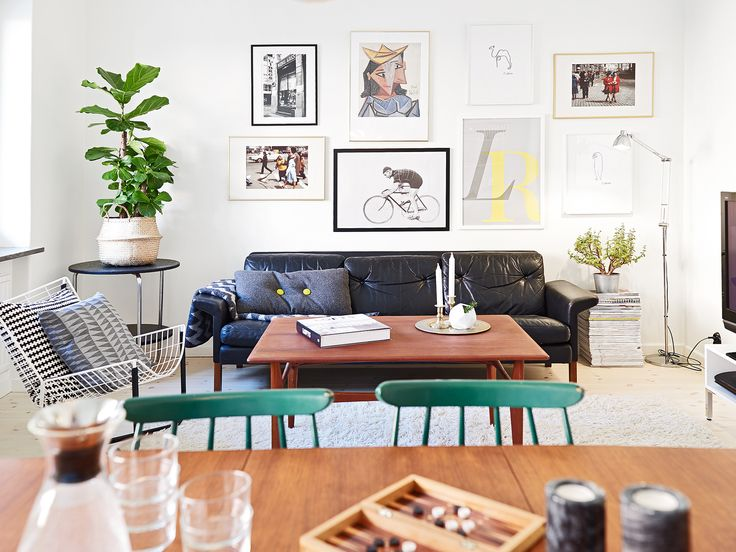 17 Best Ideas About Black Leather Couches On Pinterest Small Leather Sofa