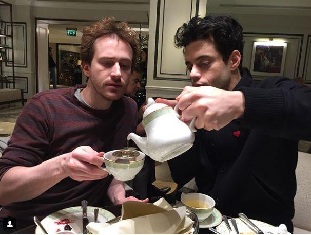 Joe Mazzello & Rami Malek | via Instagram