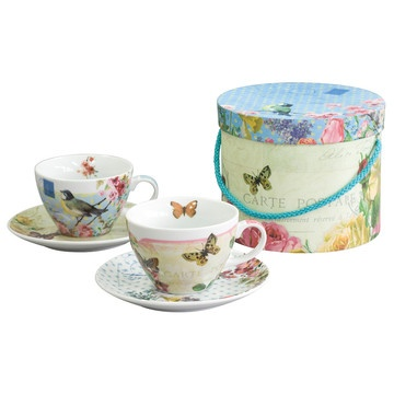 Vintage Capuccino Cup Set of 2, 17€, now featured on Fab.
