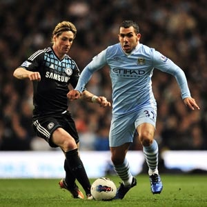 Tevez is back with a storming goal and his late goal helps City to get a win against Chelsea in the Premier League.