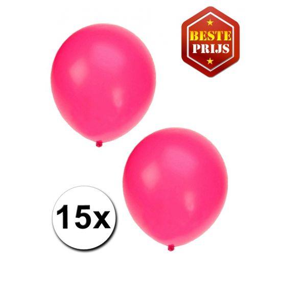 15x fluor roze party ballonnen  15 Fluor roze ballonnen. De ballonnen zijn ongeveer 27 cm lang en kunnen gevult worden met helium en lucht.  EUR 1.95  Meer informatie