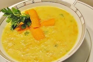 sütlü mısır çorbası