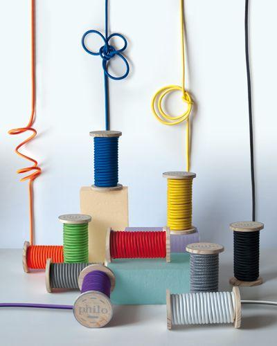 28 best Cable textil para crear lamparas images on Pinterest - cable d alimentation electrique pour maison