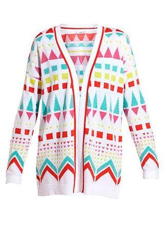 New Look geometric print cardigan, £27.99