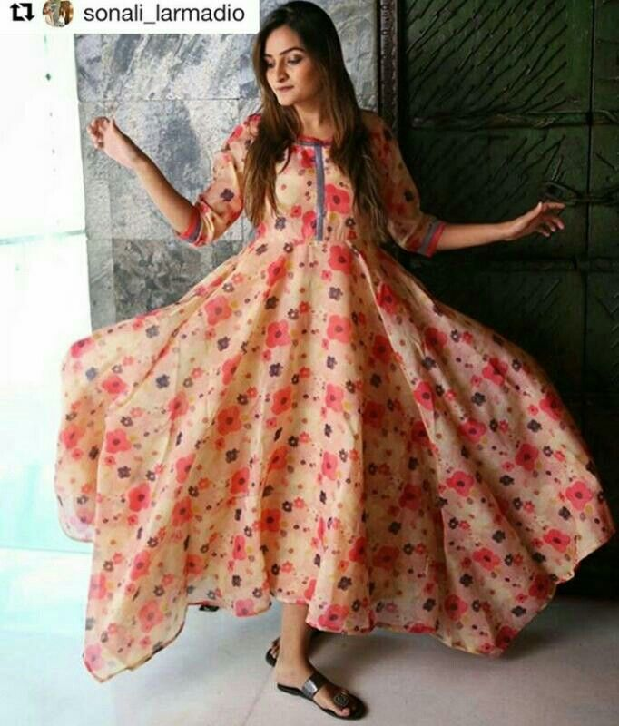 Floral Fairytale Dress...Mumbai based..Delivery all over India and outside India.For details and bookings pls contact on 7400497020..FB link-https://www.facebook.com/Miar-Designs-1039717622785710/
