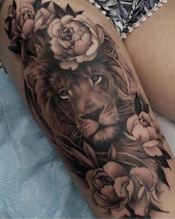 Sie werden eine sehr gute Menge für das Einstechen des Tattoos in Ihr gesamtes
