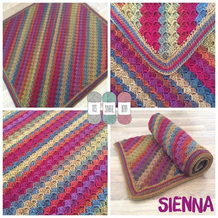 Sienna!  Yarn: Boho Spirit by @cygnet_yarns  Pattern: spring into summer c2c by @feltedbutton  #crochet by mrs_snufflebean