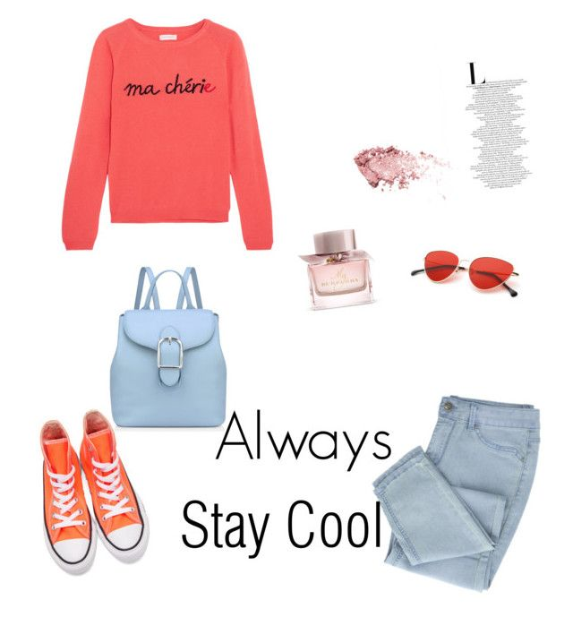 """""""Always stay cool"""" by emyem on Polyvore featuring Chinti and Parker, Converse, Anne Klein and Burberry"""
