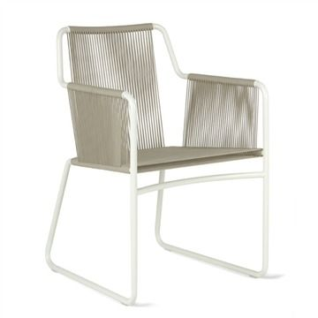 RODA Harp Armchair - Style # HRP359-01-01, Modern Outdoor Dining Chairs – Contemporary Outdoor Dining Chairs – Outdoor Dining Furniture | SwitchModern.com