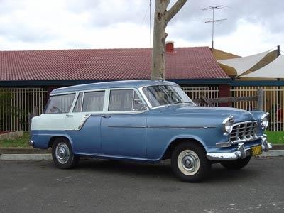 The family truckster - FC Holden