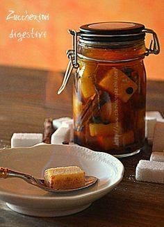 CIBO VINO E PAROLE ...: Zuccherini digestivi -Digestive sugar cubes