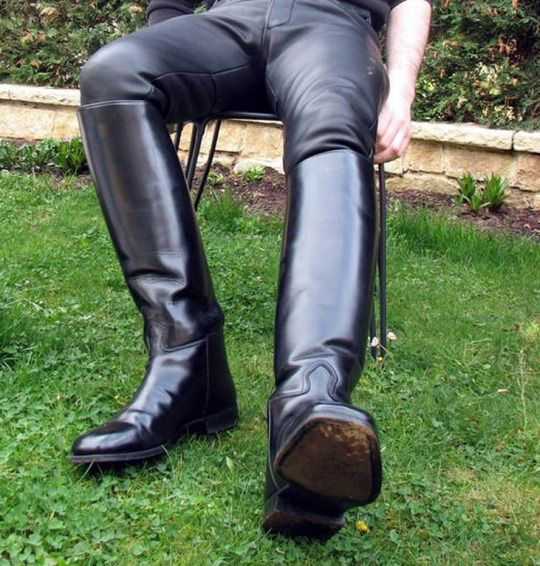 Horny Riding Boots Mature 66