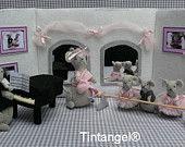 Kit di Combi Ballet School con il pianista - kit fai da te